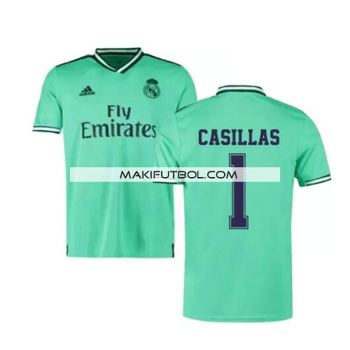 camiseta Casillas 1 real madrid 2019-2020 tercera equipacion