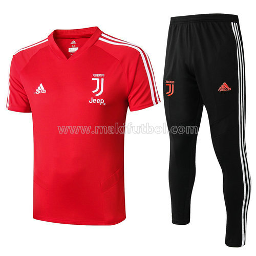 camiseta juventus polo 2019-2020 rouge