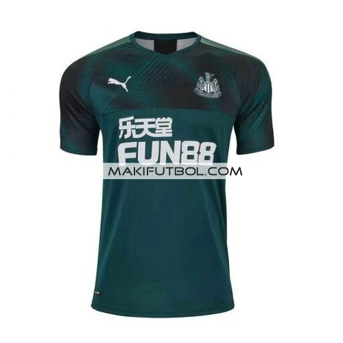 camiseta newcastle united 2019-2020 segunda equipacion