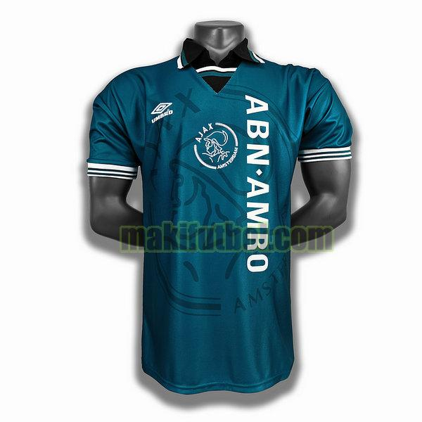 camisetas ajax 1994 95 segunda player azul