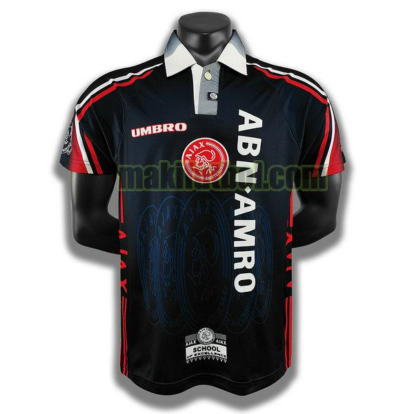 camisetas ajax 1997 98 segunda player azul