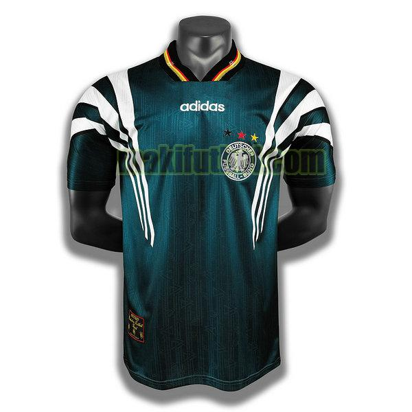 camisetas alemania 1996 segunda player verde