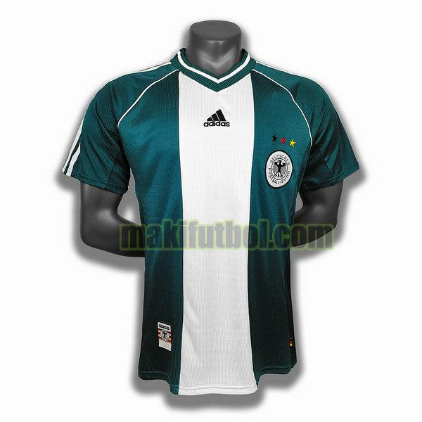 camisetas alemania 1998 segunda player verde