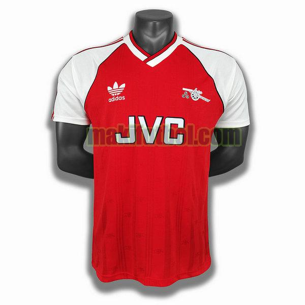 camisetas arsenal 1988 primera player rojo