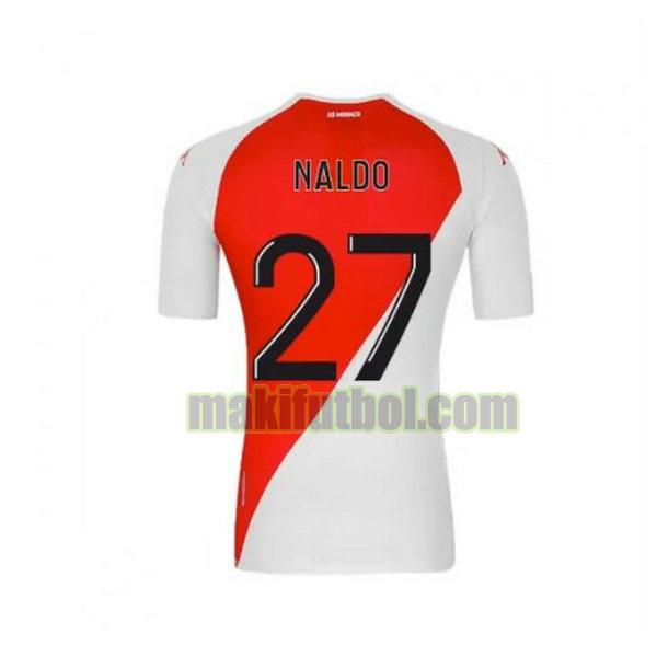 camisetas as monaco 2020-2021 primera naldo 27