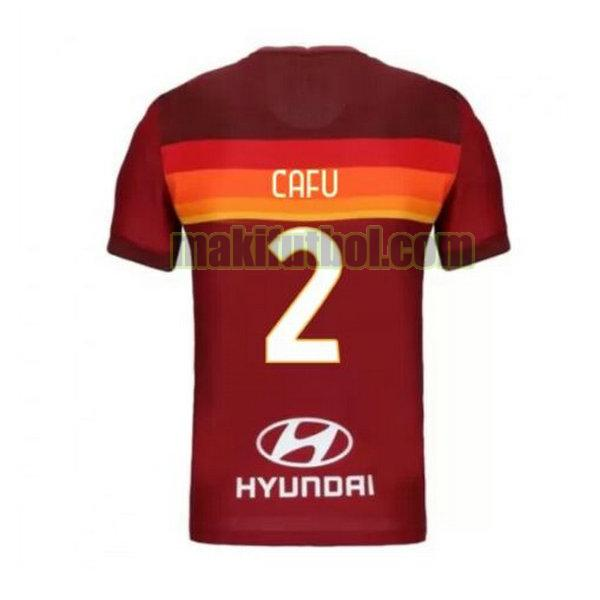 camisetas as roma 2020-2021 priemra cafu 2