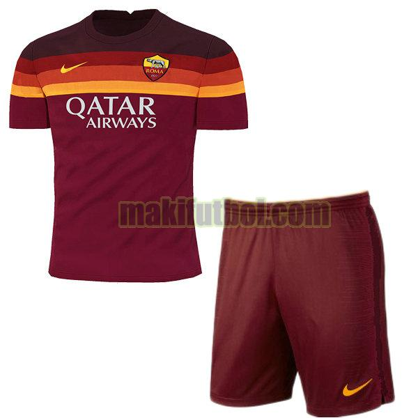 camisetas as roma niño 2020-2021 primera