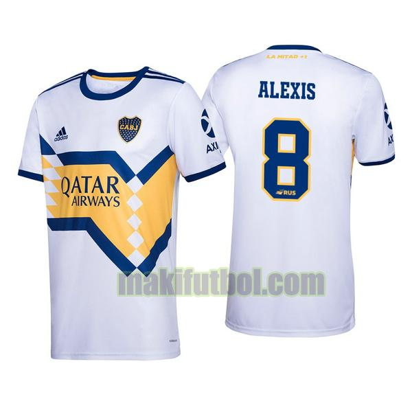 camisetas boca juniors 2020-2021 segunda alexis mac allister 8
