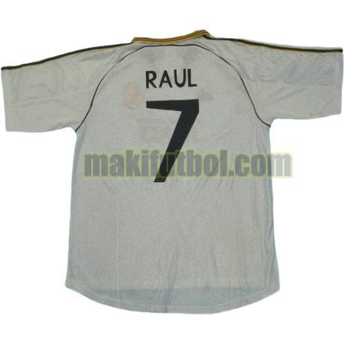 camisetas real madrid 1999-2000 primera raul 7