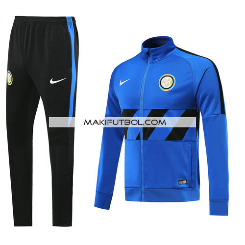 chandal inter milan 2019-2020 azul