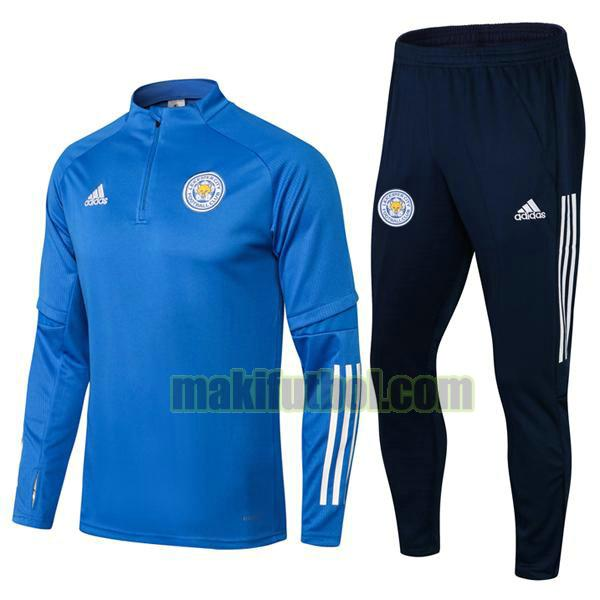 chandals leicester city 2021 2022 conjunto azul