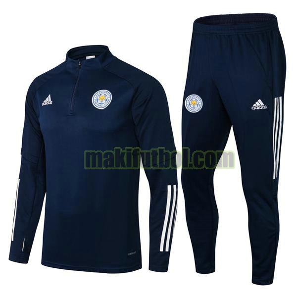 chandals leicester city 2021 22 conjunto azul