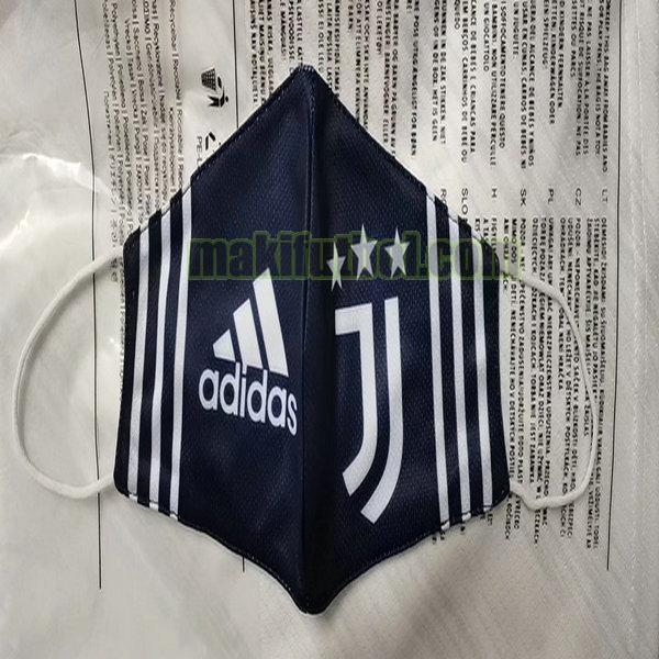 máscaras juventus 2020-2021 black white